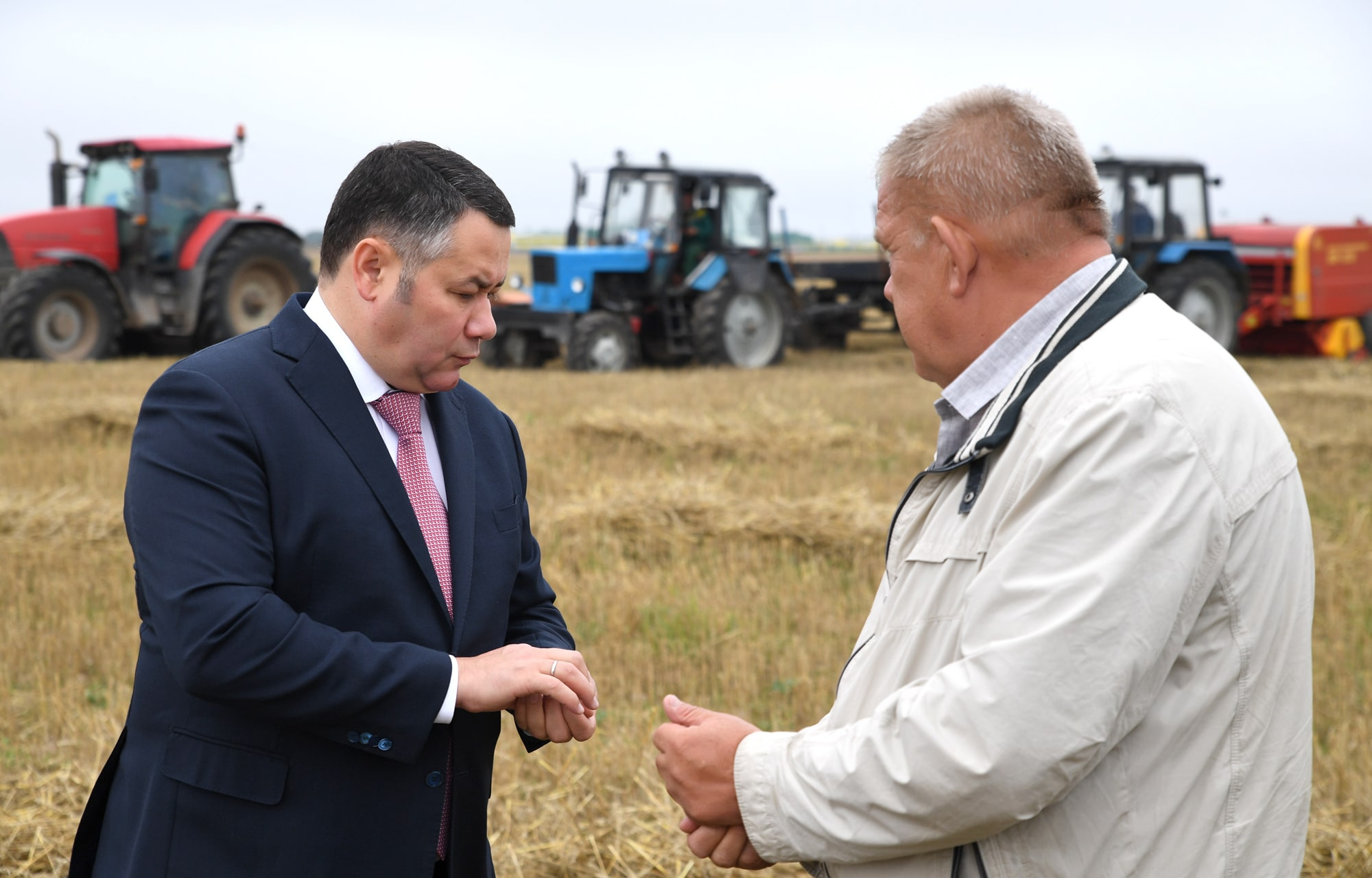 Игорь Руденя обсудил с аграриями региона развитие сельского хозяйства Тверской области