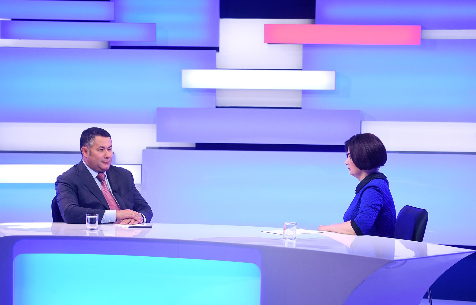 Губернатор Игорь Руденя ответит на вопросы жителей Тверской области в прямом эфире