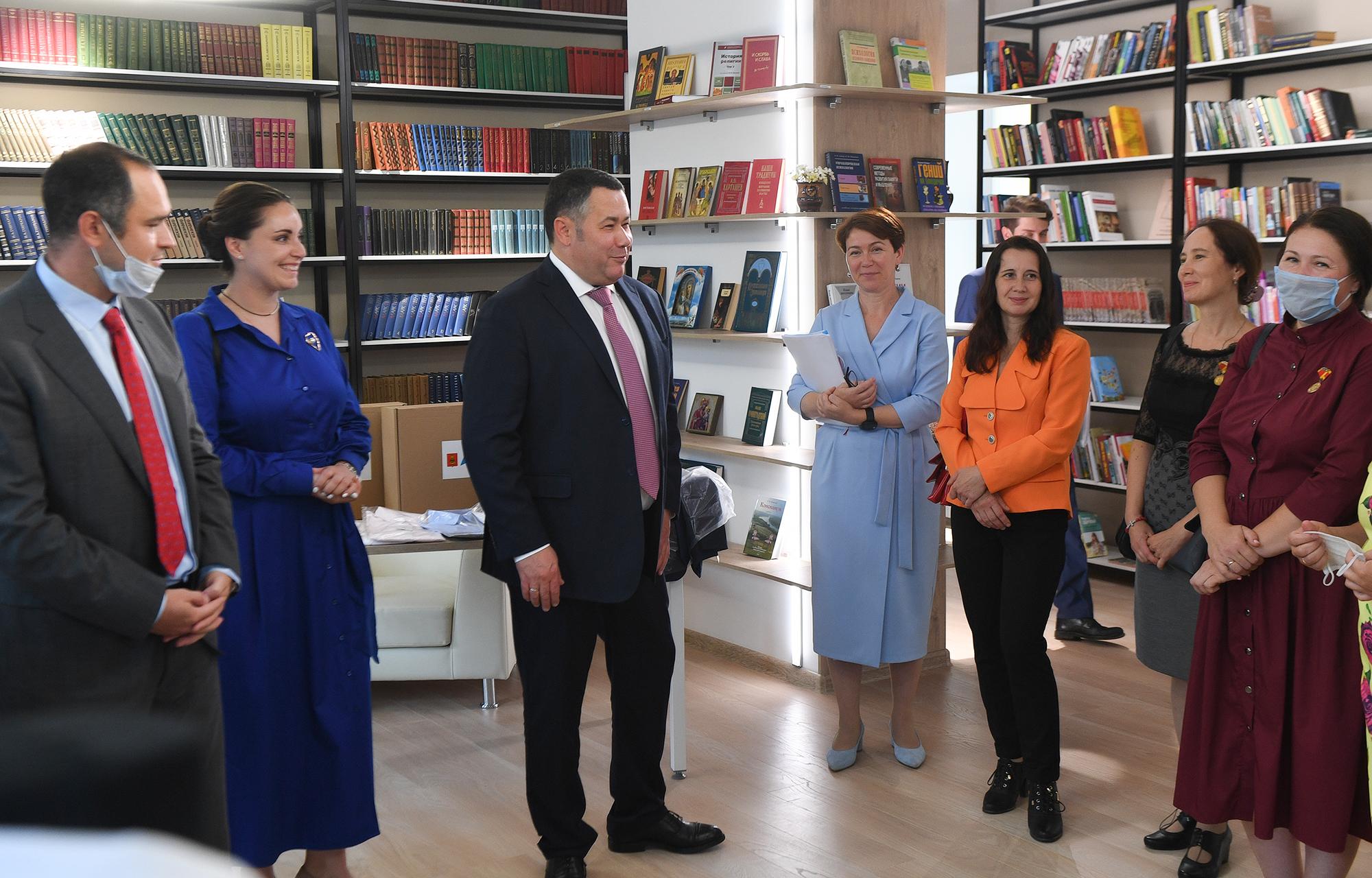Игорь Руденя обсудил с многодетными семьями Тверской области региональные меры поддержки