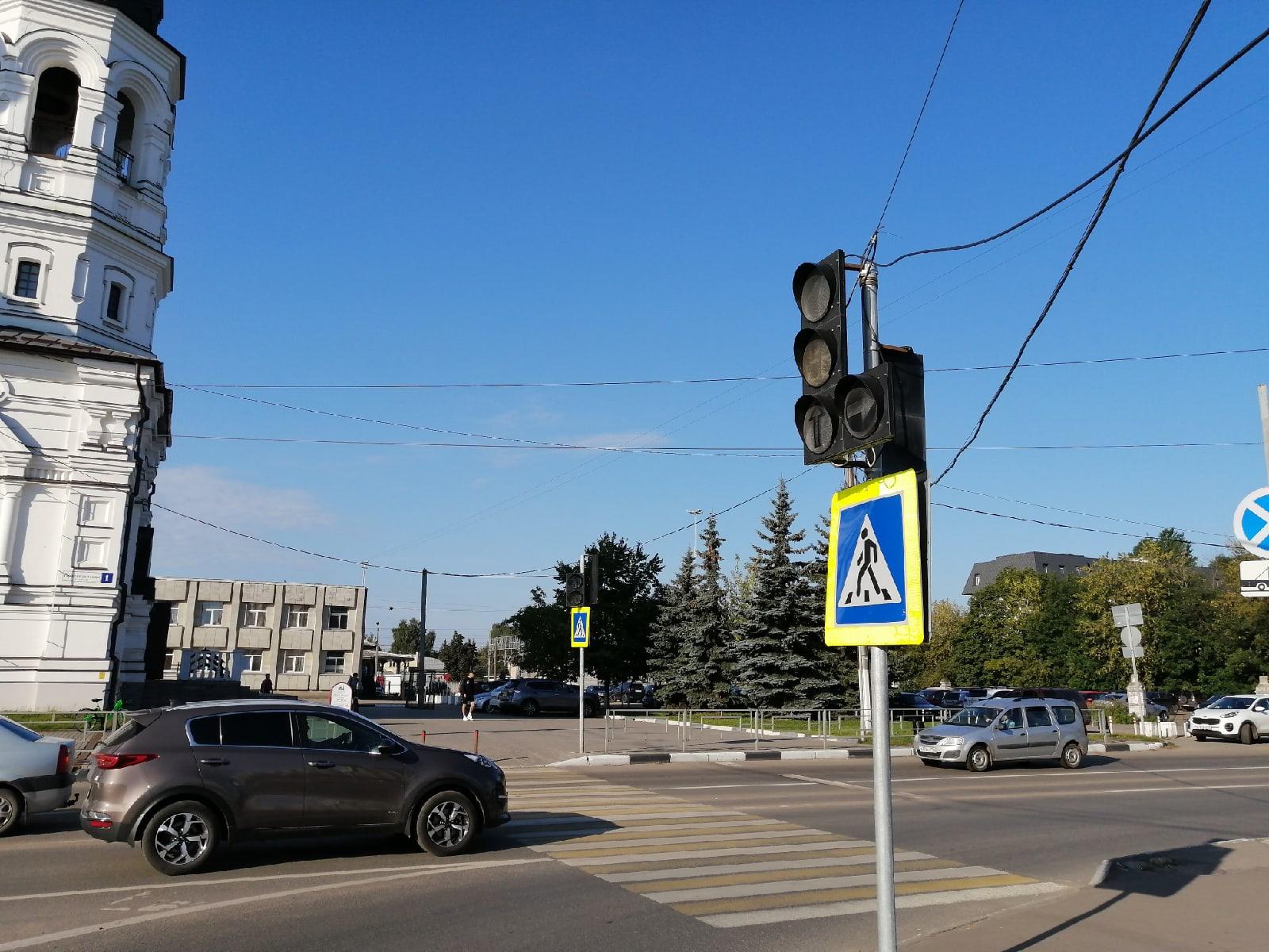 В Твери починили светофор, отключавшийся два дня подряд