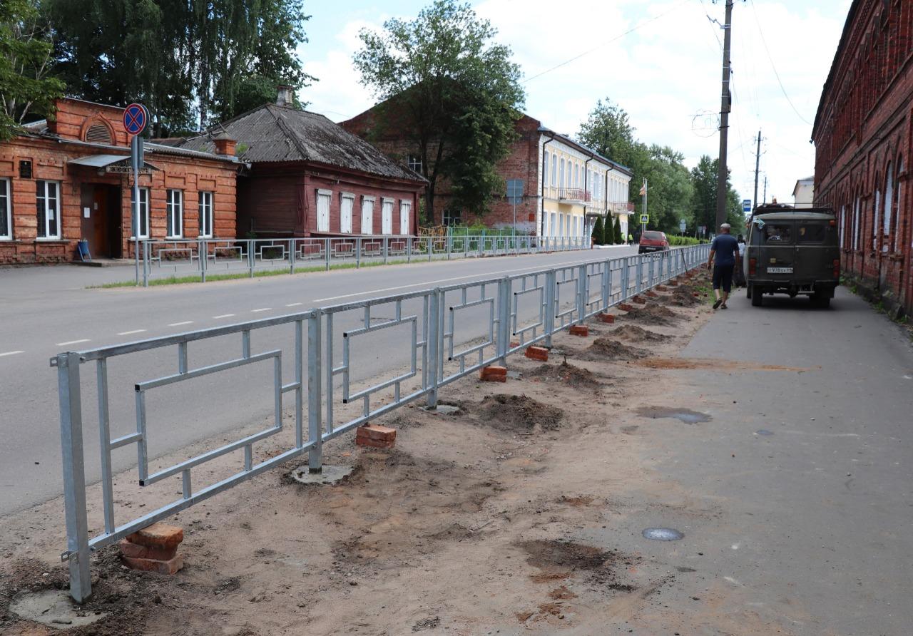 Древнейший город в Тверской области продолжает благоустраиваться
