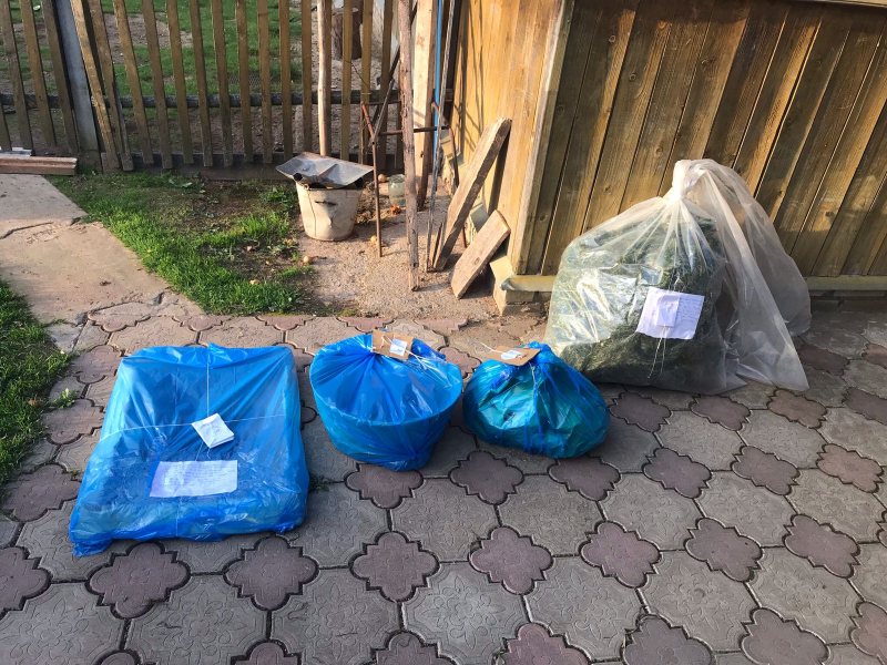 У пенсионера из Тверской области нашли больше 4-х килограммов марихуаны и конопли