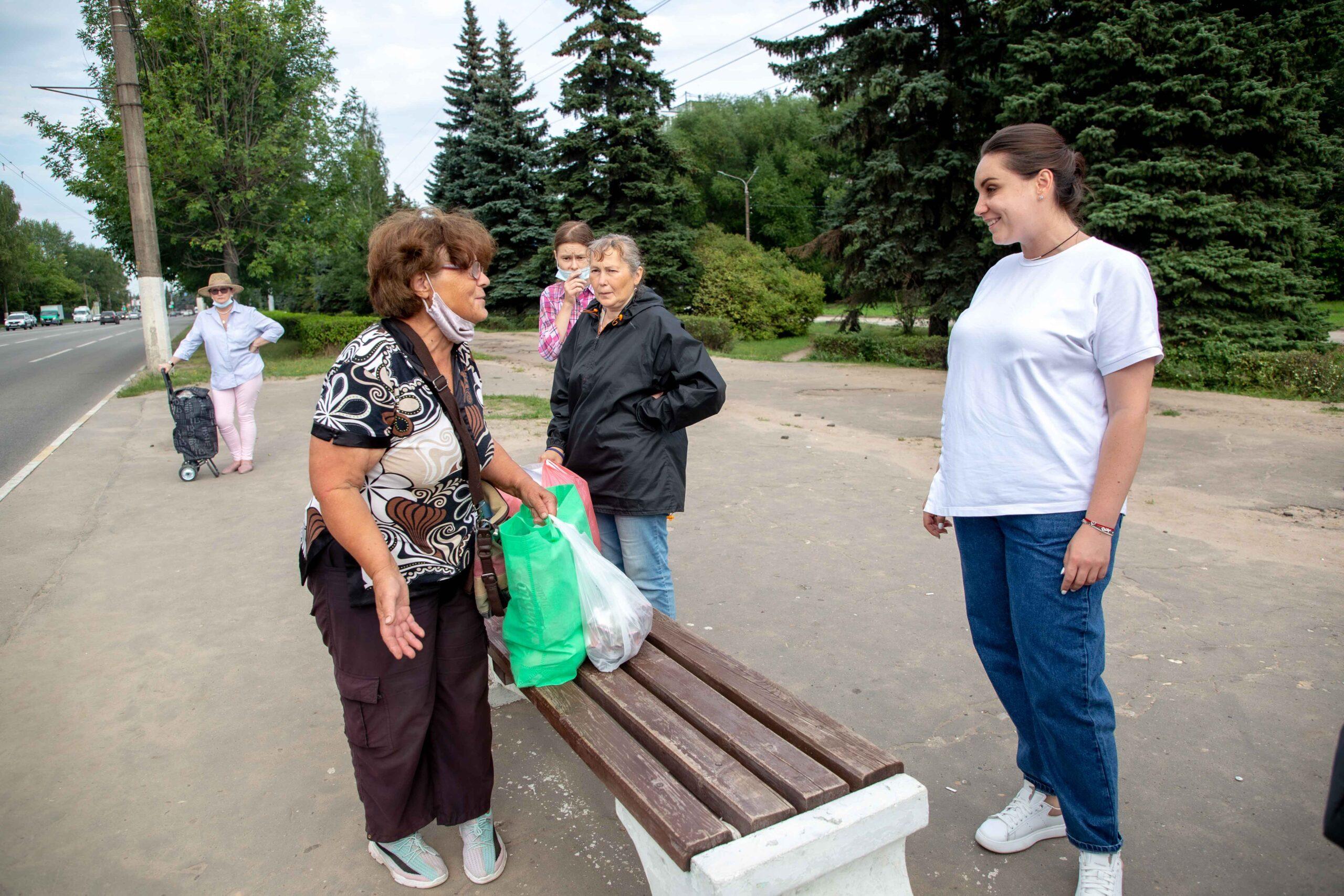 Администрация Твери пообещала Юлии Сарановой привести в порядок остановку в «Южном»