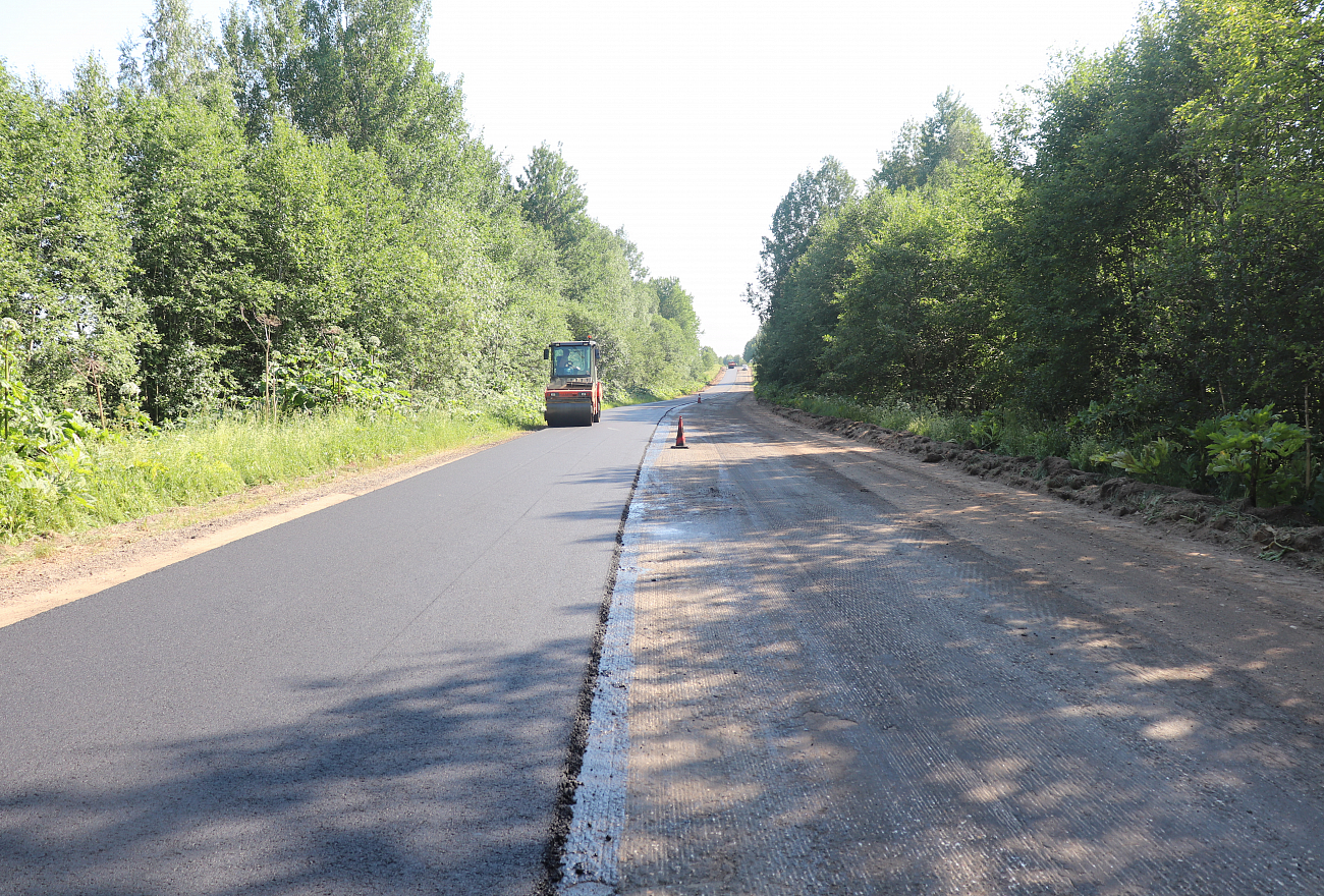 В Тверской области заканчивают ремонт значимой туристической дороги