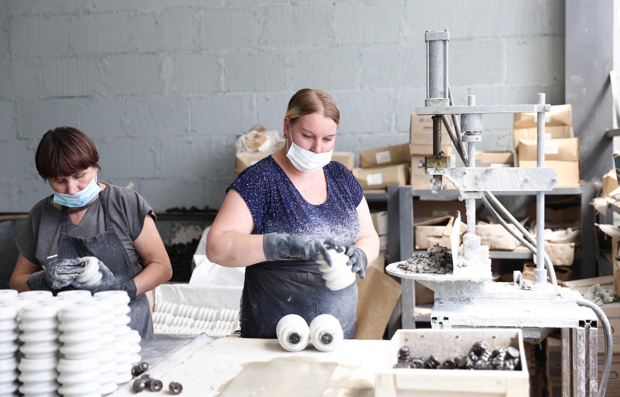 В Тверской области на андреапольском фарфоровом заводе создадут новые рабочие места