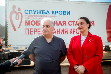 Мобильная станция переливания крови отправилась в районы Тверской области