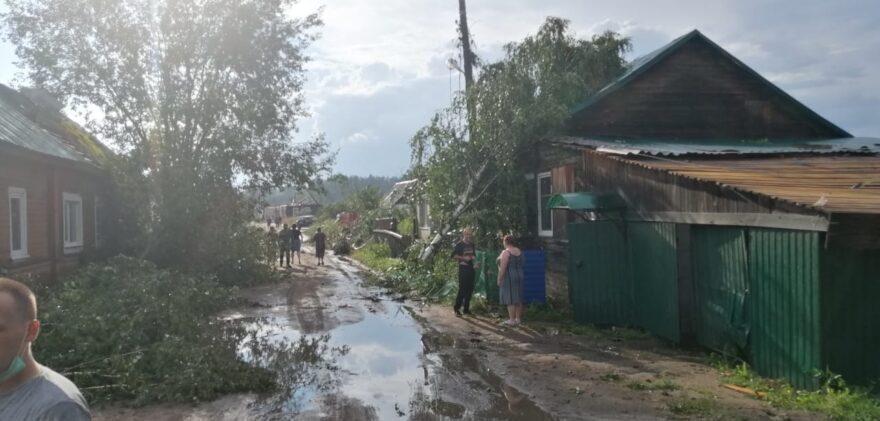 Ураган уходит из Тверской области, хотя синоптики обещали совсем другое