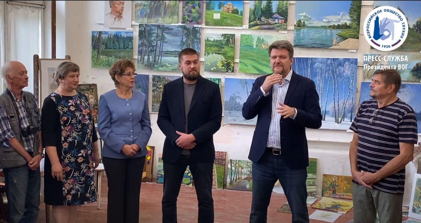 На Академической даче под Вышним Волочком завершился пленэр художников