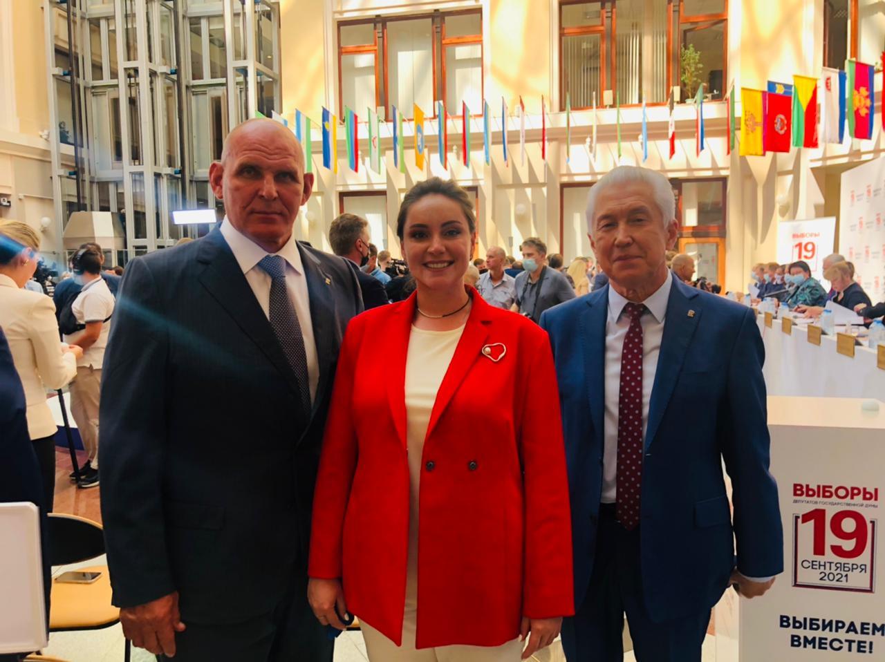 Партия «Единая Россия» получила №5 в избирательном бюллетене