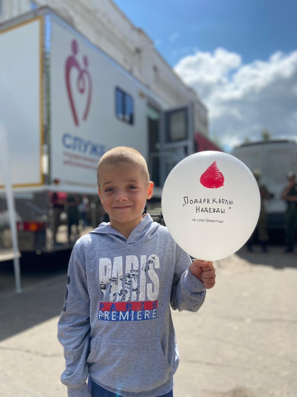 За два дня донорами в Тверской области стали больше сотни человек