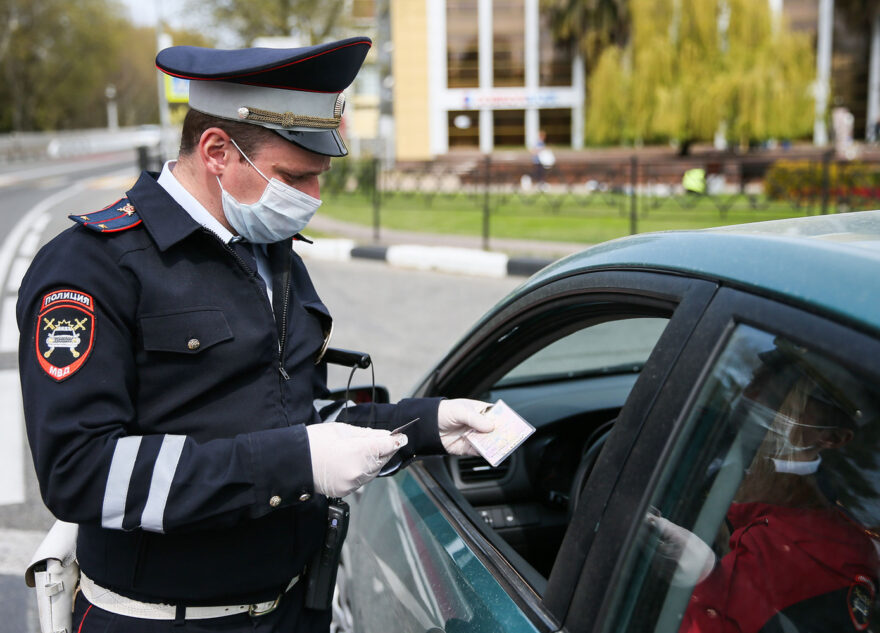 Тверских водителей смогут лишать прав из-за сообщений Минздрава