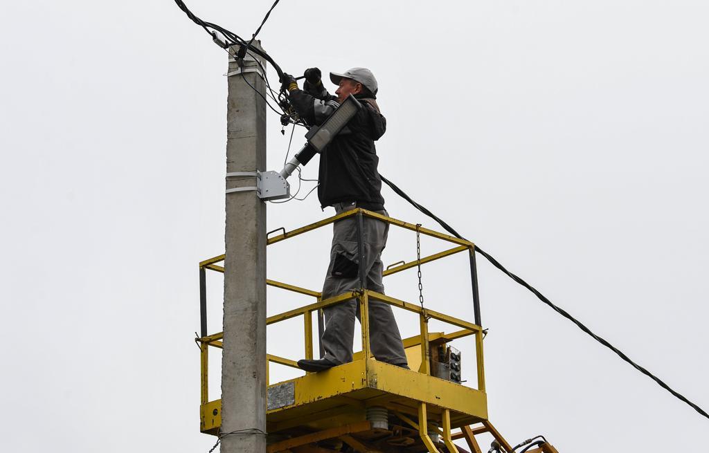 В Андреаполе Тверской области восстановили часть домов, пострадавших от урагана