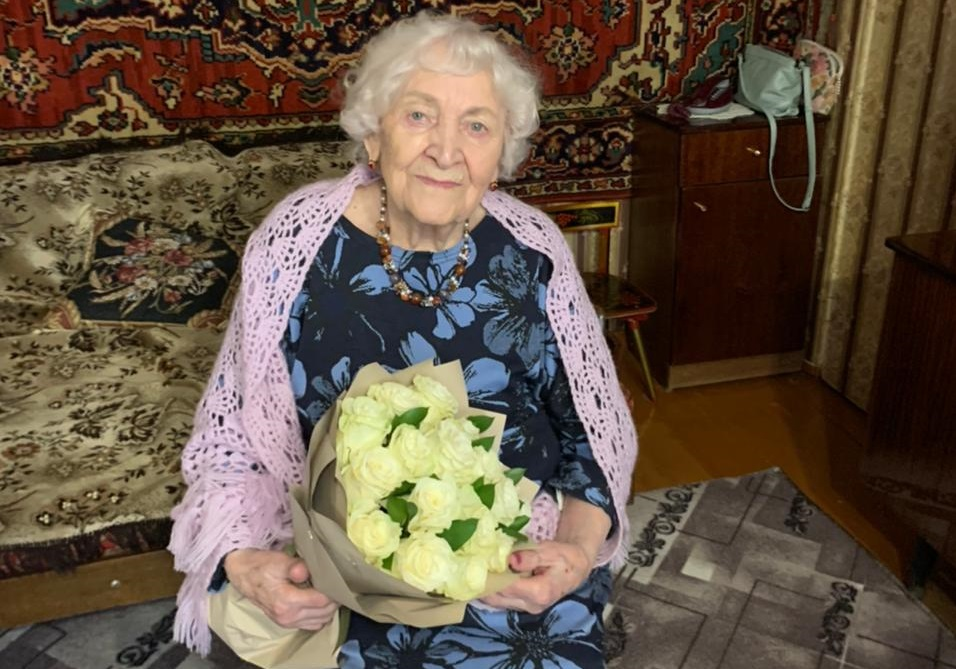 Участница Великой Отечественной войны Зоя Андреева отпраздновала в Твери вековой юбилей