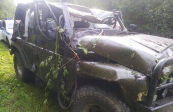 В Тверской области отец пустил за руль 14-летнего сына и попал в больницу