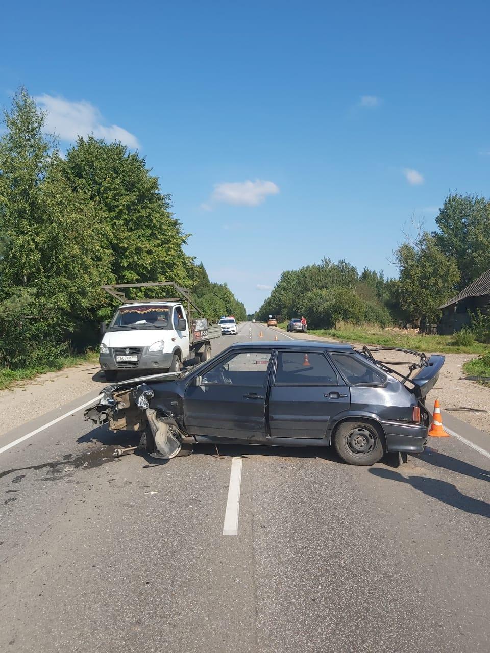 В Тверской области произошло тройное ДТП, в котором пострадал ребёнок