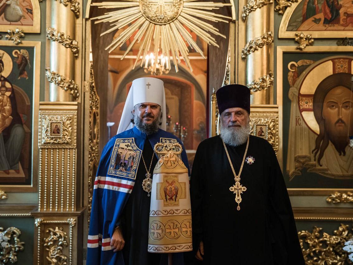 Игорь Руденя поблагодарил тверского протоирея Душенкова за сохранение духовных традиций