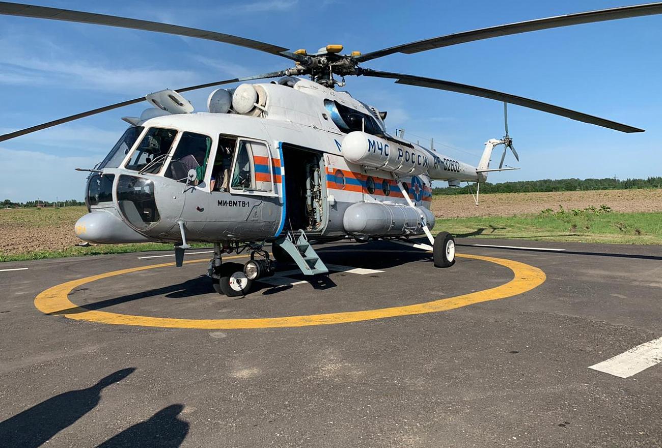 У больницы в Тверской области скоро появится вертолётная площадка