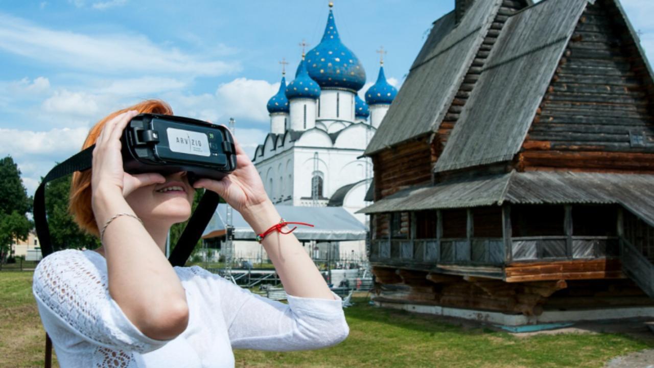 Тверь можно увидеть в очках виртуальной реальности