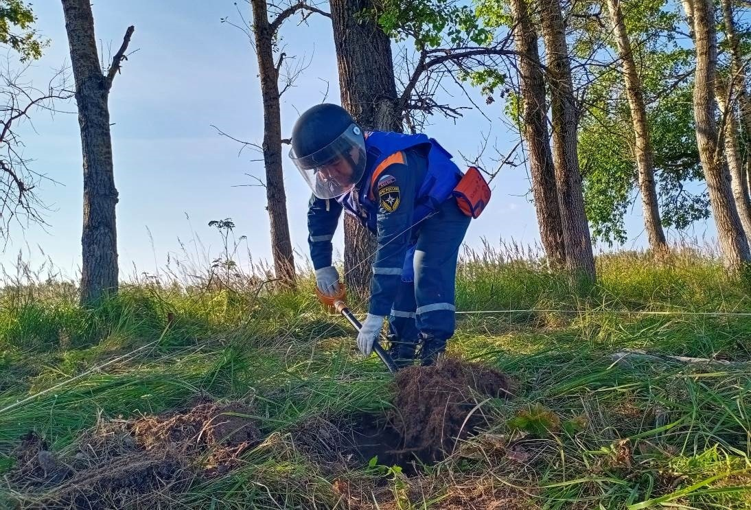 Эхо войны: в Тверской области заканчивают обезвреживать мины времён Великой Отечественной
