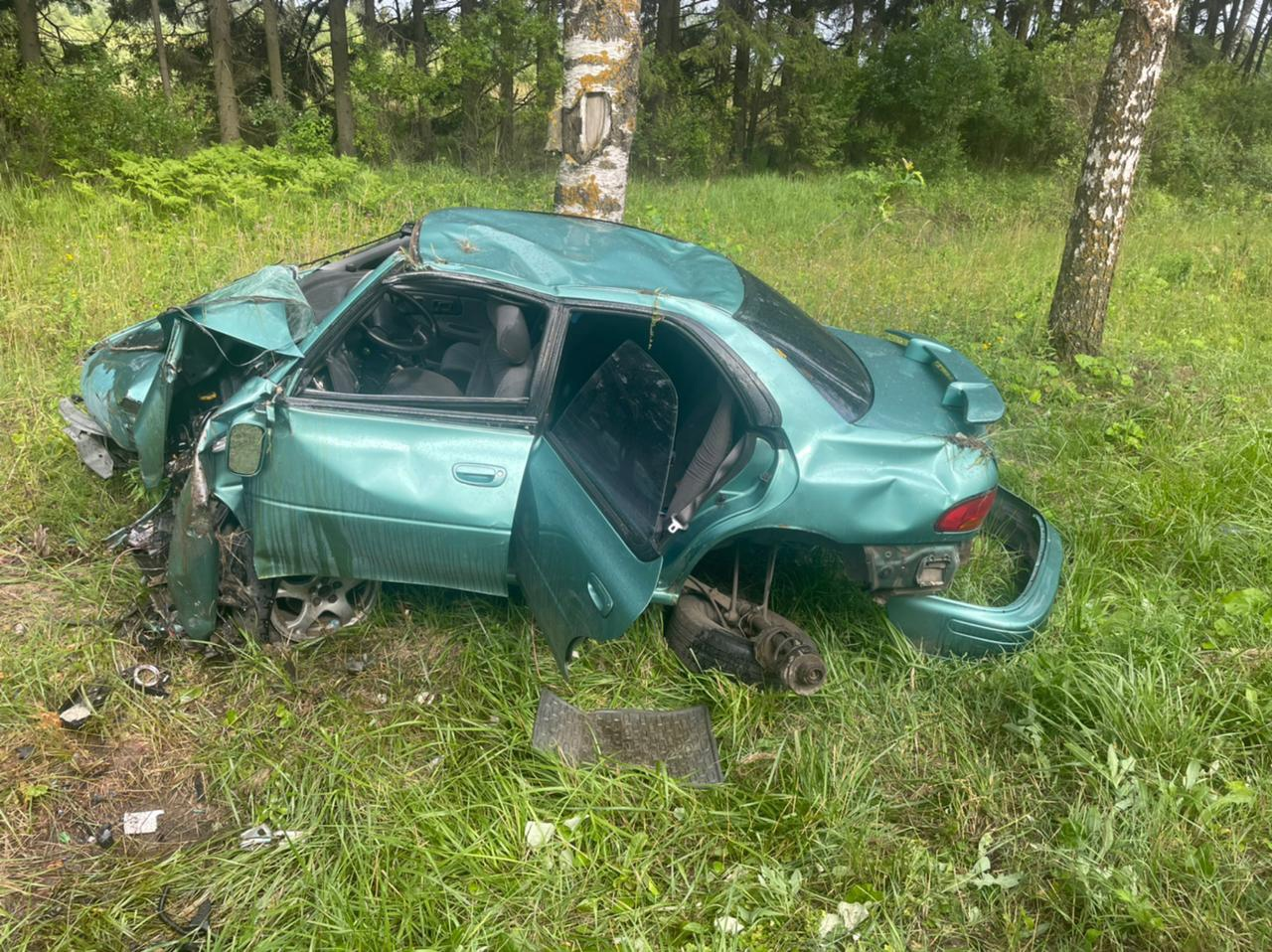 19-летняя девушка пострадала в аварии на трассе в Тверской области