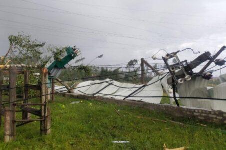 Названа причина разрушительного урагана в Тверской области