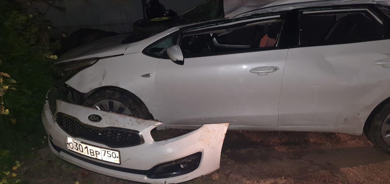 Молодая девушка получила множество ушибов в аварии на тверской трассе