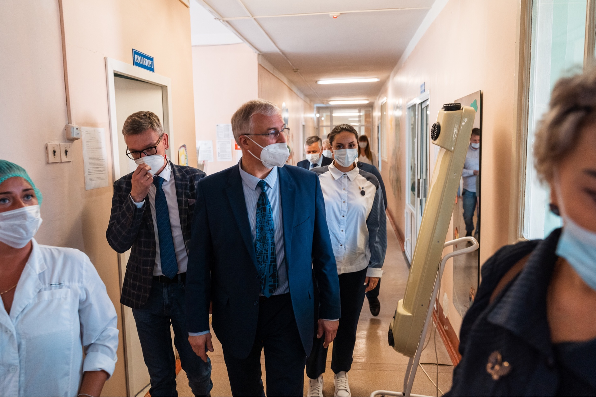 Что прописали министр здравоохранения Сергей Козлов и лидер тверских волонтеров Юлия Саранова конаковской медицине