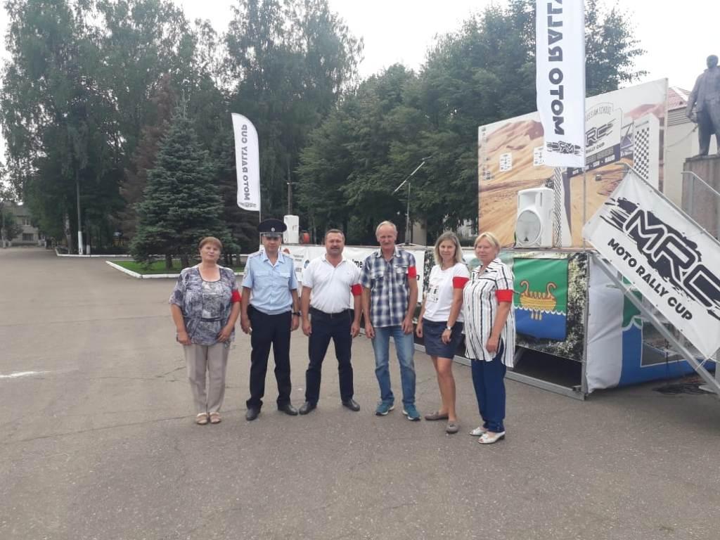 На Moto Rally Cup в Андреапольском округе работали дружинники и полиция