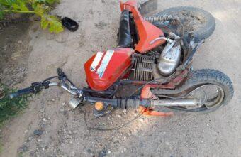 14-летний мотоциклист пострадал в лобовом столкновении в Тверской области