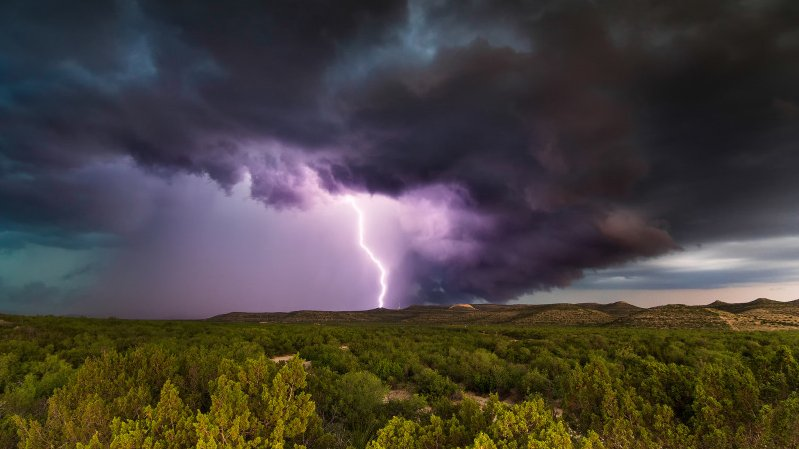 В ближайшее время на Тверскую область обрушится гроза и сильный ливень