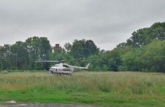 Ребёнка в тяжёлом состоянии экстренно доставили в Тверь на вертолёте