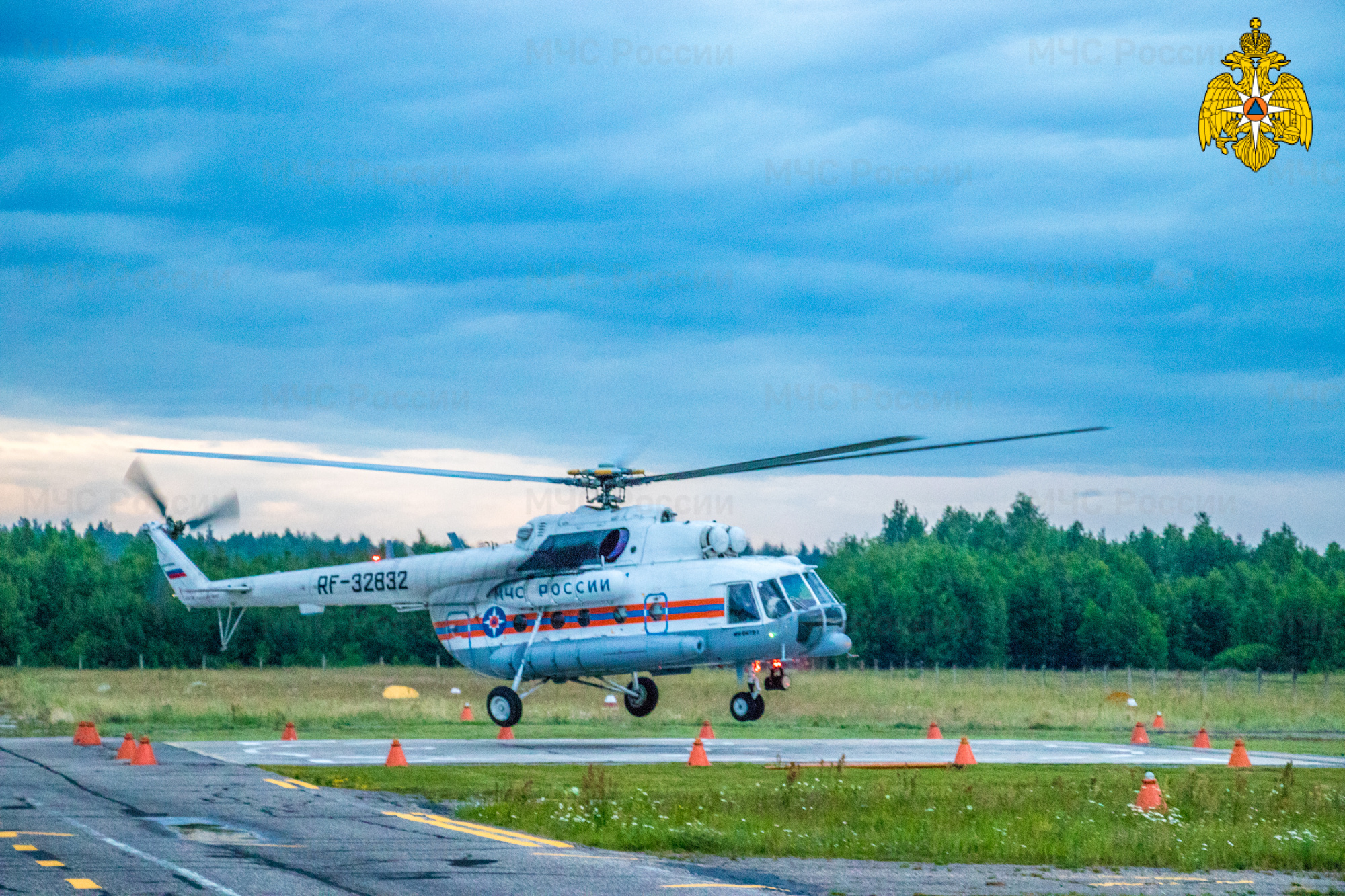 Ребёнка экстренно доставили на вертолёте в Тверь