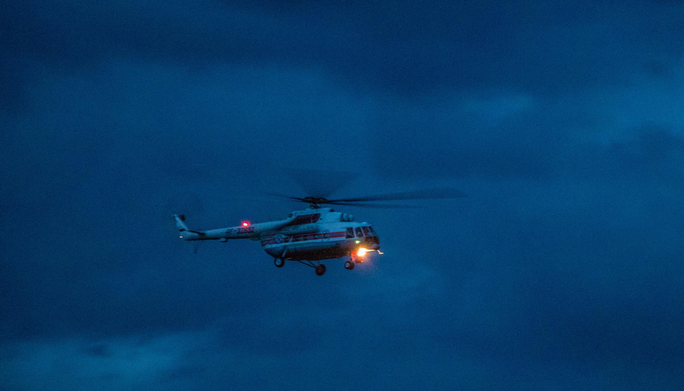 В Тверской области вертолёт спасателей экстренно доставил ребёнка в больницу