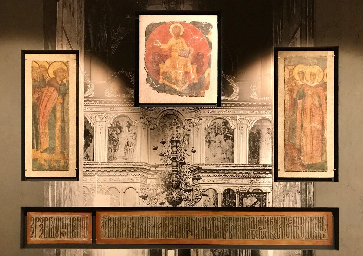 Калязинскую фреску делают в Москве
