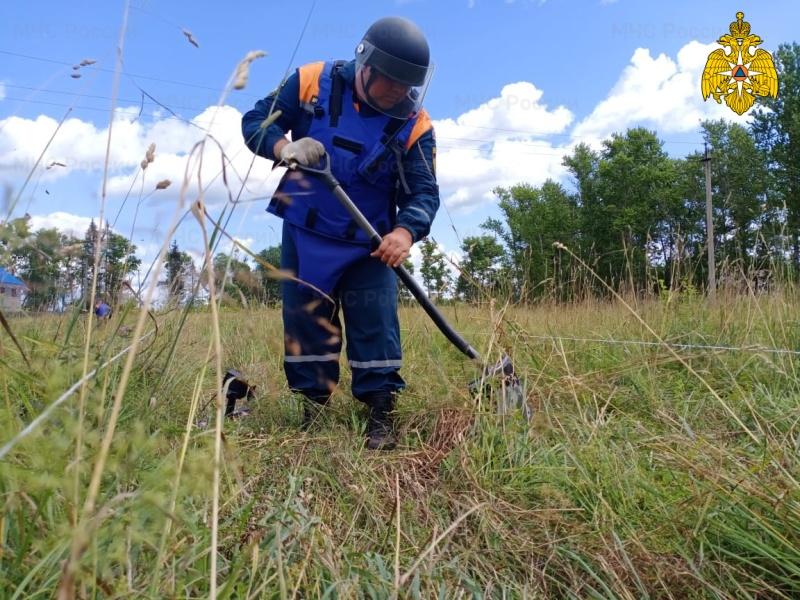 Спасатели в Тверской области нашли бомбы времён Великой Отечественной войны