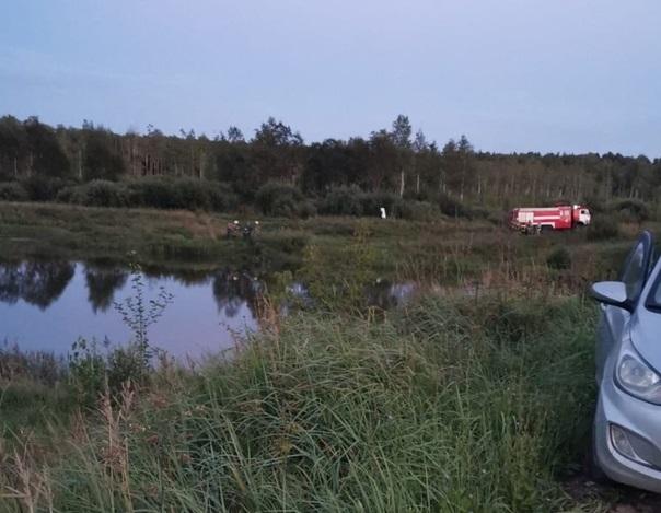 В Тверской области утонула иномарка, водолазы ищут тело водителя