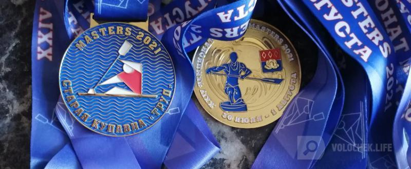 Вышневолоцкий гребец завоевал 12 медалей на чемпионате России среди ветеранов