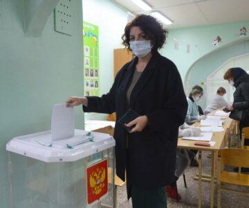 Главы районов Тверской области голосуют на выборах