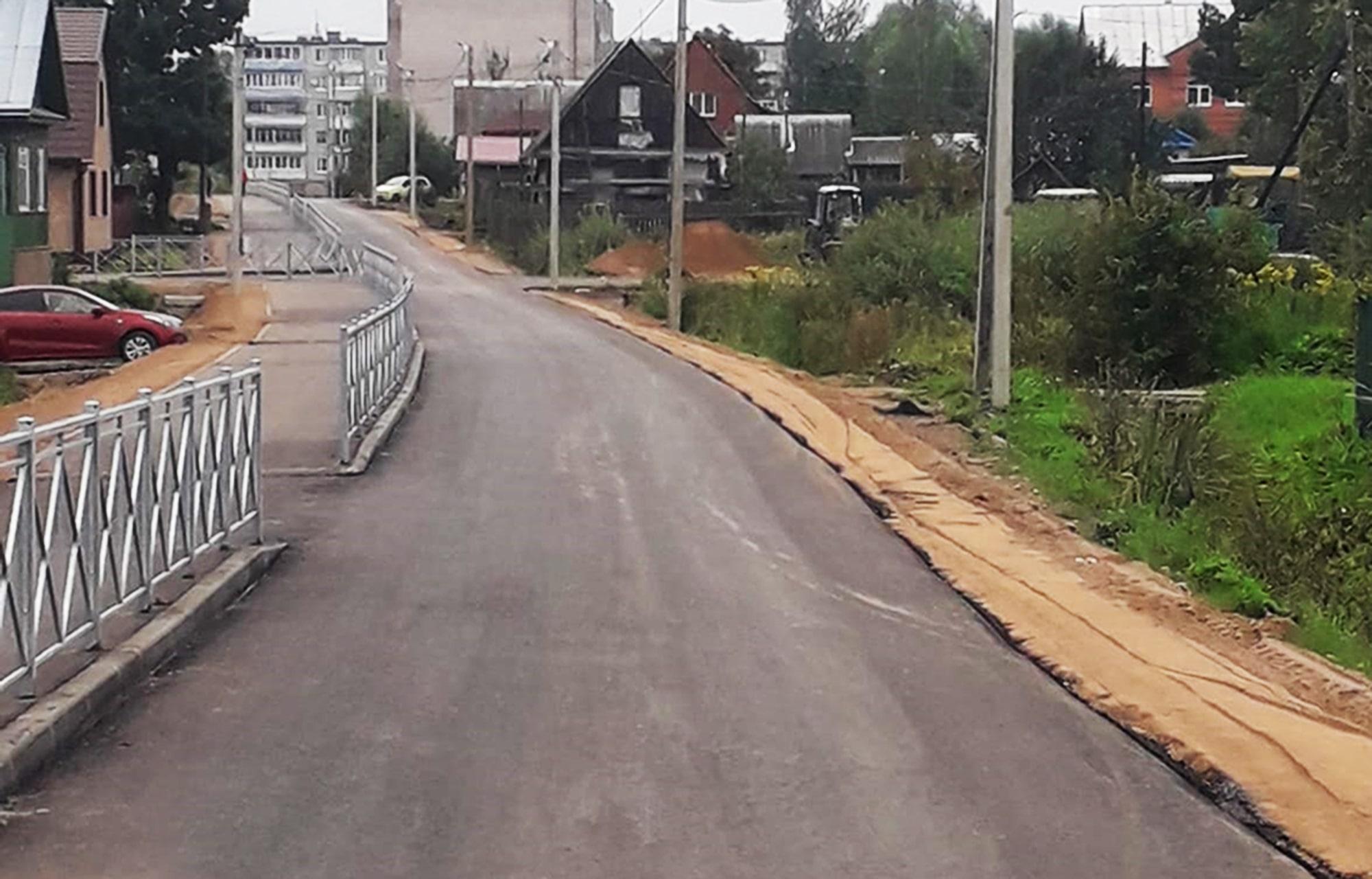 В Торопце отремонтировали одну из основных магистральных улиц города