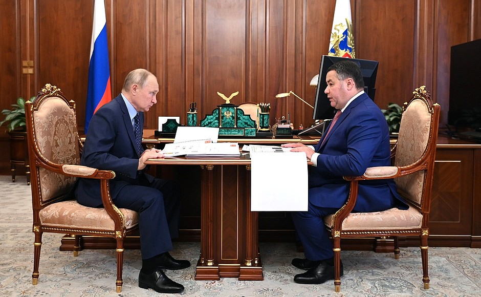Губернатор Игорь Руденя прокомментировал основные итоги встречи с главой государства
