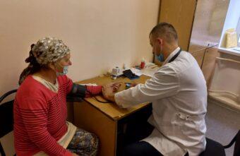 В Максатихе прошла углубленная диспансеризация пациентов после ковида