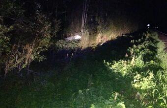 На дороге в Тверской области перевернулся пьяный парень на «десятке»