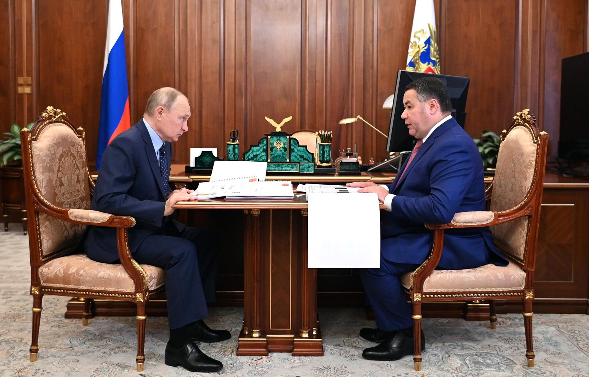 Встреча Владимира Путина и Игоря Рудени вошла в «Губернаторскую повестку»