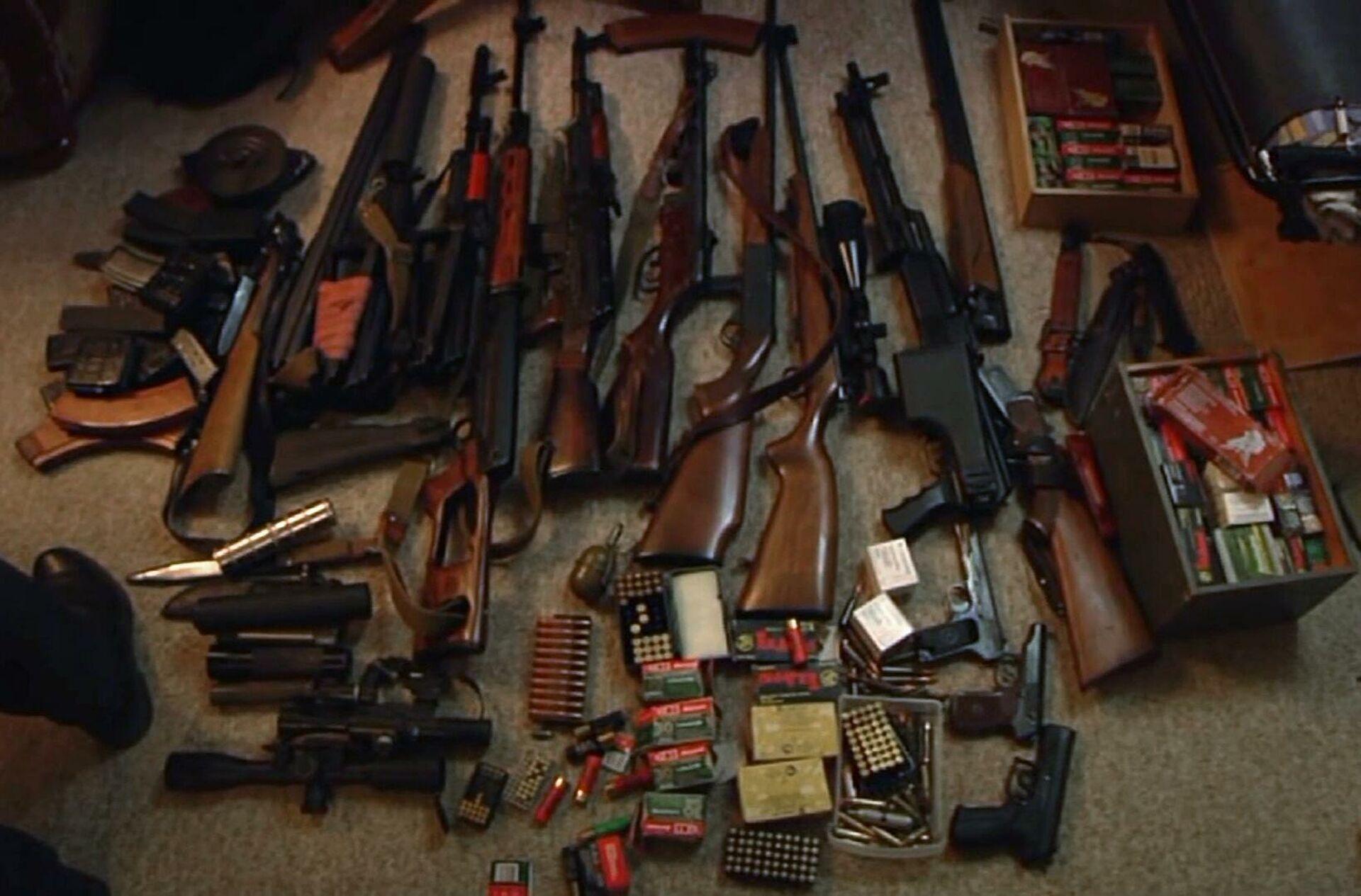 В Тверской области оперативники накрыли подпольную оружейную мастерскую