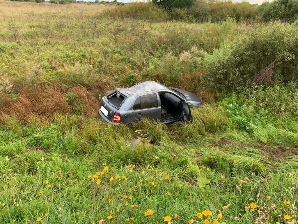 Женщина получила травмы головы в ДТП в Тверской области