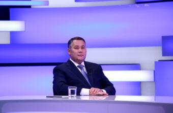 «Тверская область – это сердце России»: Игорь Руденя вышел в прямой эфир