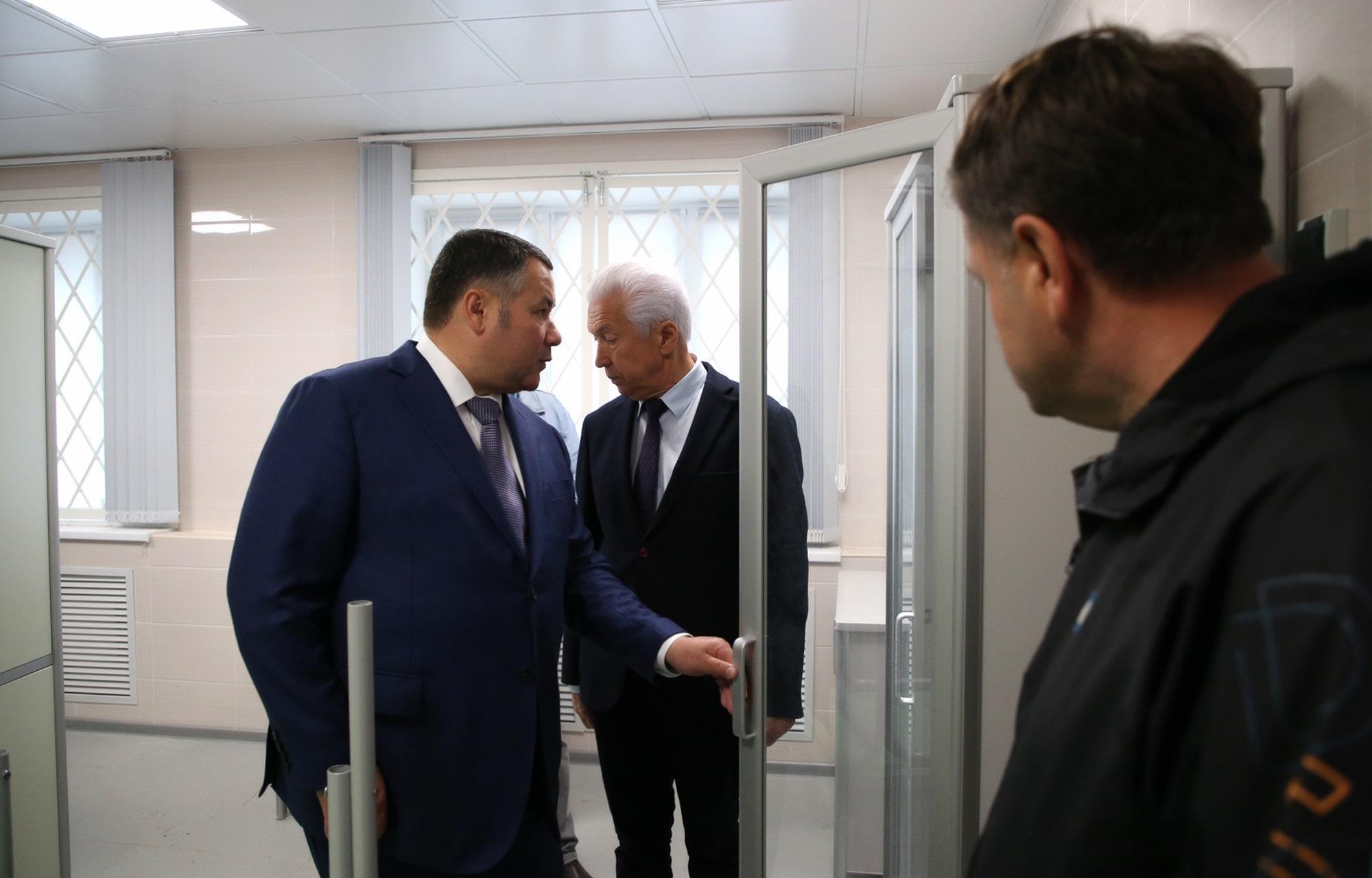Ремонт Ржевской станции скорой медицинской помощи должны закончить в сентябре