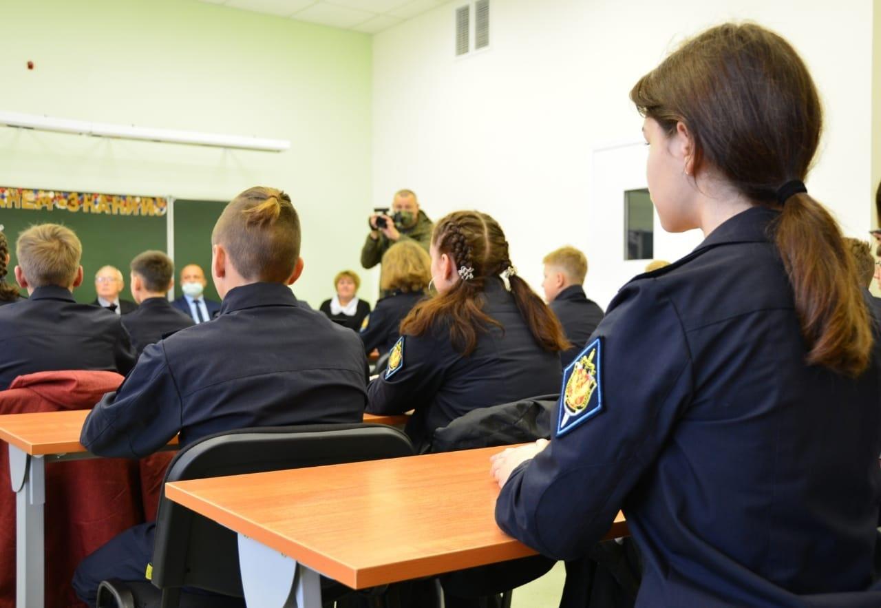В Твери открылся первый в регионе кадетский класс ФСБ России