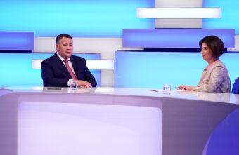 Игорь Руденя рассказал, за кого голосовал на первых в своей жизни выборах