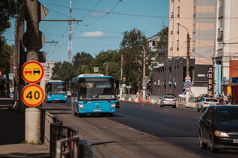 В Твери с 7 сентября меняются девять автобусных маршрутов